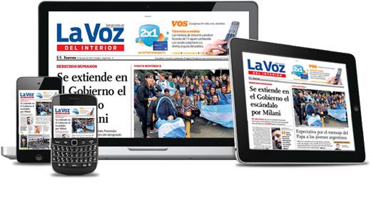 Edición digital La Voz